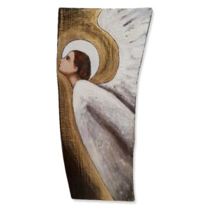 Obraz malowany na desce – Anioł