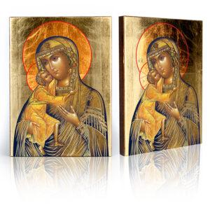 Ikona religijna Eleusa (Matka Boża Czuła)