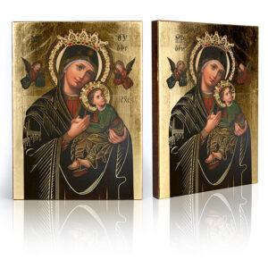 Ikona Matka Boża Nieustającej Pomocy Wizerunek Matki Bożej