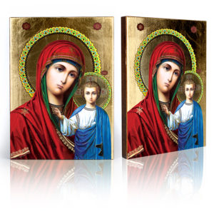 Ikona religijna Matka Boża Kazańska