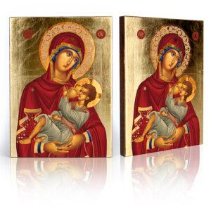 Ikona religijna Matka Boża Karmiąca