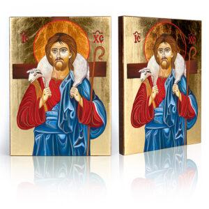 Ikona Jezusa Chrystus Dobry Pasterz
