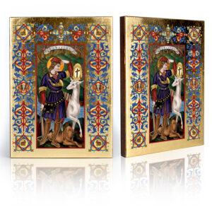 Ikona religijna Święty Hubert