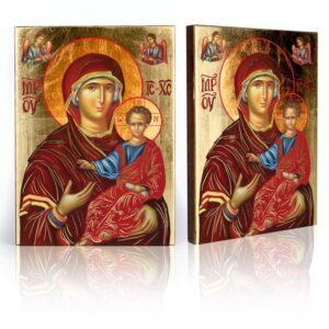 Ikona religijna Matka Boża z Dzieciątkiem
