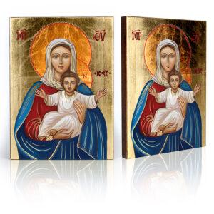 Ikona religijna Matka Boża Tronująca