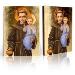 Ikona religijna Święty Antoni z Padwy