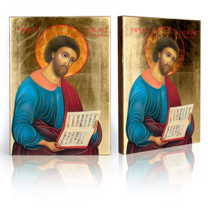Ikona religijna Święty Łukasz Ewangelista