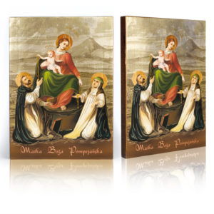 Ikona religijna Matka Boża Pompejańska