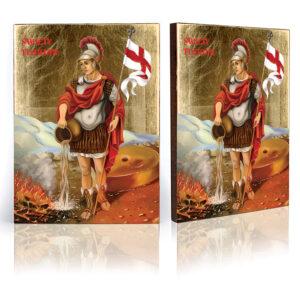 Ikona religijna Święty Florian