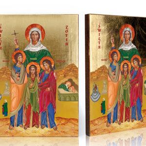 Ikona religijna Święta Zofia