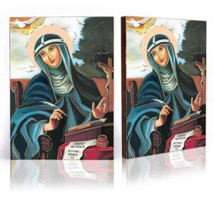 Ikona religijna Święta Brygida