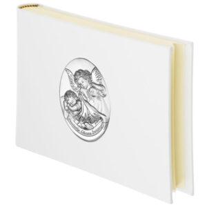Album na zdjęcia z okazji Chrztu z obrazkiem Aniołków 15×21 cm