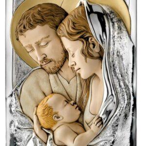 Obraz Świętej Rodziny 23×40 cm