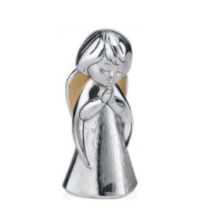 Srebrna figurka Aniołka modlącego się 10 cm