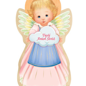"""Ikona – Anioł Stróż dziewczynka """"Twój anioł stróż"""""""