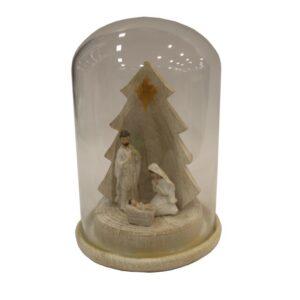 Święta Rodzina w szklanej kopule