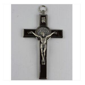 Krzyż benedyktyński czarny