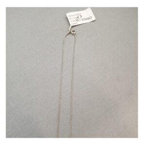 Łańcuszek srebrny 50 cm/  2,3 g