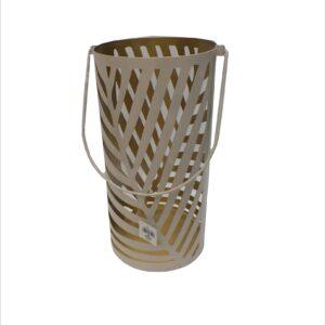 Ażurowy metalowy lampion